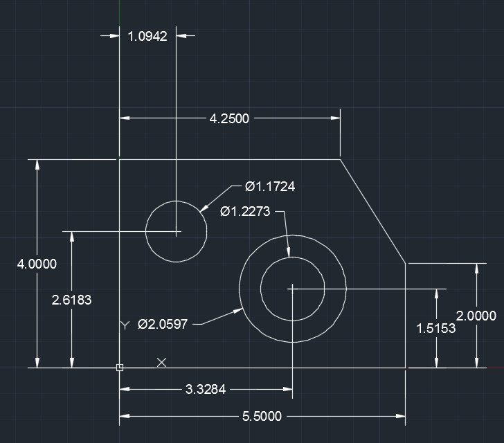AutoCAD 1 - Basic technical drawing